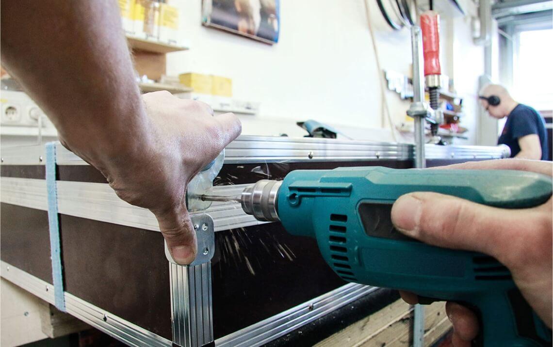 Fabricação e Manutenção de Cases -  Cases em Jundiaí